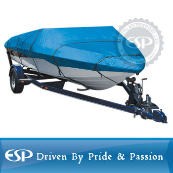 #66133 Trailerable waterproof boat cover 300D polyester