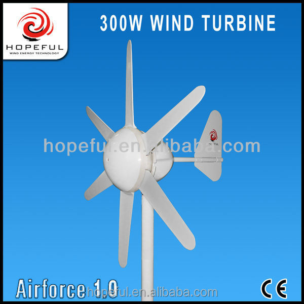 300w Very Competitive Professional design advanced technology water-proof home wind and solar hybrid system