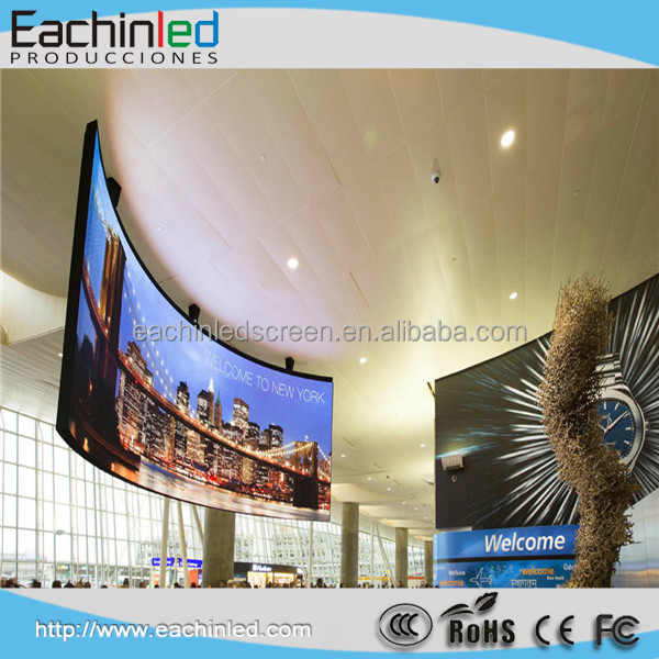 Most popularly High quality product P3 SMD Fixed Series indoor full color led display screen for video / 10ft x 12ft led screen