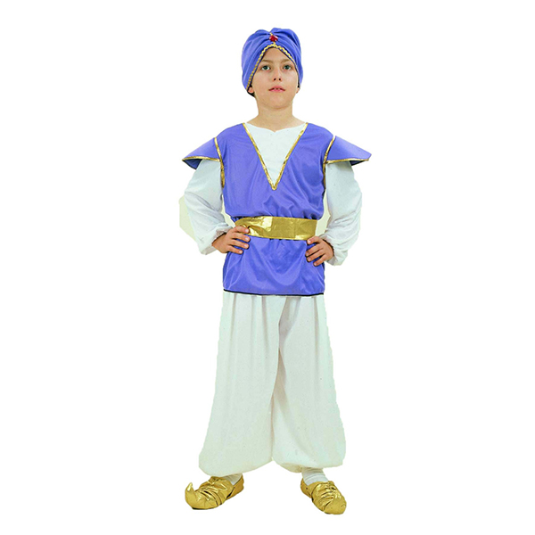 Factory hot sale aladdin costume for kids