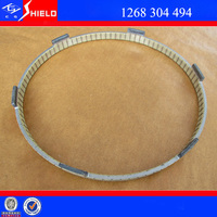 Mercedes benz manual gearbox spare parts synchronizer ring auto transmission parts for bus mercedes 1268304494