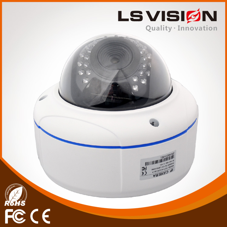 LS VISION 5MP Megapixel 2.8-12mm Varifocal Zoom Len 1080P Network HD IP Security Camera with PoE