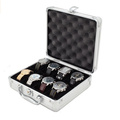 custom-made Aluminum Watch Storage Box For 8 Watches Tech Swiss