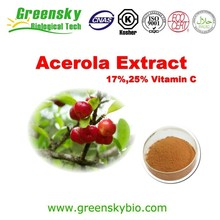High Quality Natural Acerola Cherry Fruit Extract