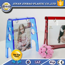 JINBAO new style popular baby clothes picture display table acrylic photo standee