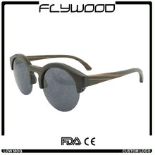 Sunglasses bamboo polarized Top quality custom engraving logo eco-friendly recycle wood sunglasses