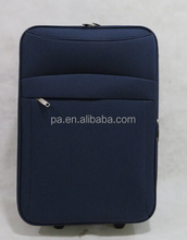 Fabric travel trolley luggage set