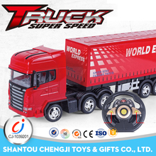 High speed electric remote control cars and trucks with light