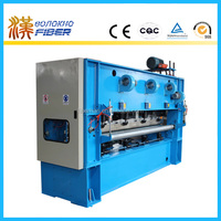 Needle punched nonwoven synthetic leather making machine