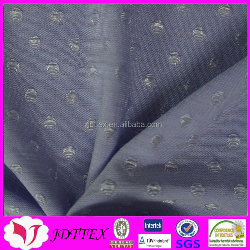 92%polyester 8%spandex moisture absorption jacquard knit fabric for sportswear