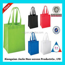 wholesale custom cheap non woven polypropylene bags/ non woven fabric bags