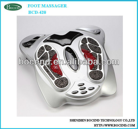 Vibrating blood circulation foot massager bcd-420