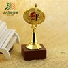 customized size replica grammy metal award trophy globe