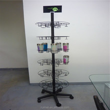 Free-stand drinking glass storage rack