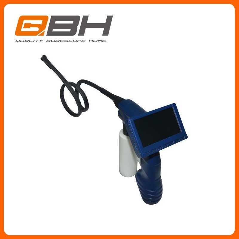 car airconditioning evaporator cleaning borescope