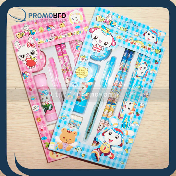 fancy stationery set children school stationery set stationery school set