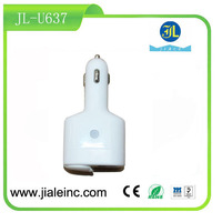 New product usb car charger for mobile phone charger with customized logo printing consumer electronic