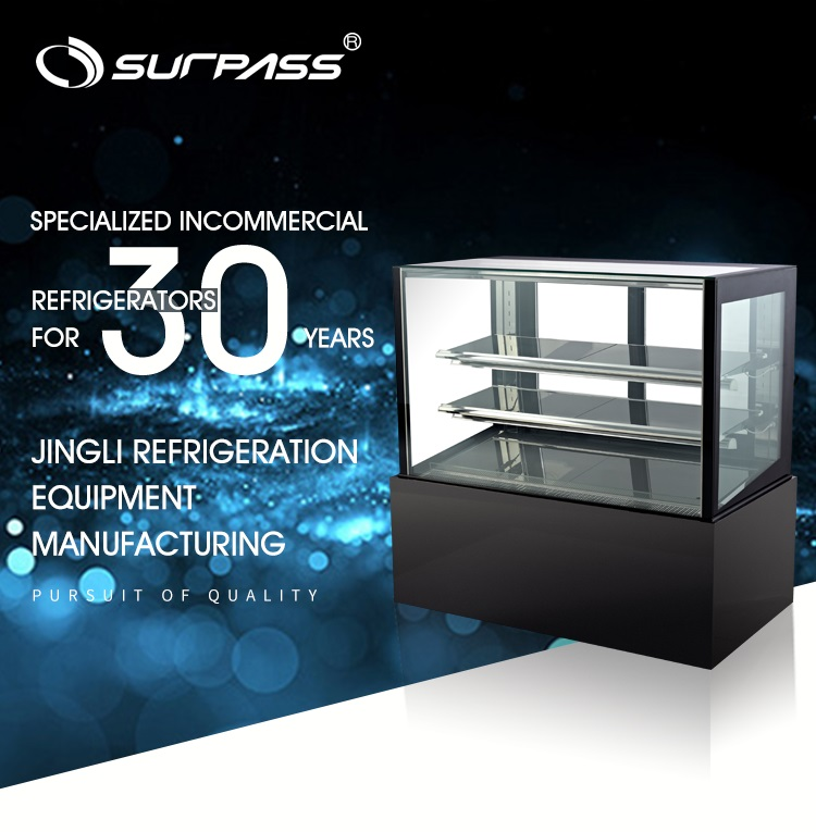 Commercial Counter Top Refrigerated Sushi Display Showcase