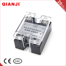 QIANJI Electrical Equipment Supplies Solid State SSR Relay AC - AC 25AA