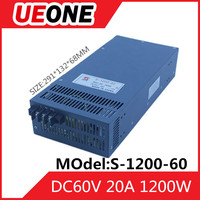 1200W switching power supply DC60V 20A dc power supply