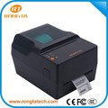 Rongta hot sale desktop pos thermal transfer roll label printing machine, usb care label printing machine