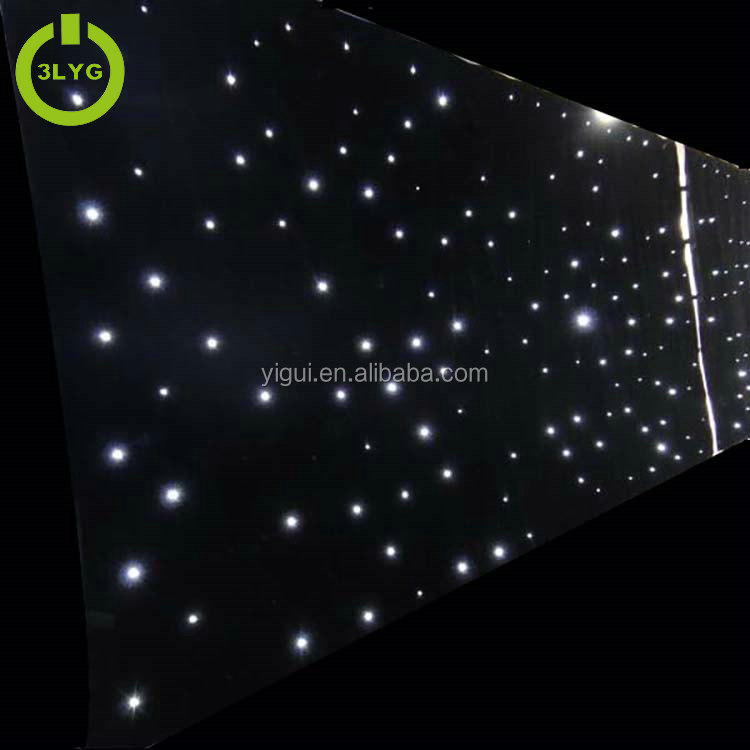 Hot sale longlife 4X6m IP 65 waterproof RGBW colorful party light led curtain
