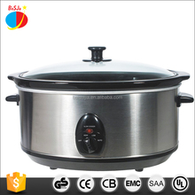 6.5QT Stainless Steel Slow Cooker