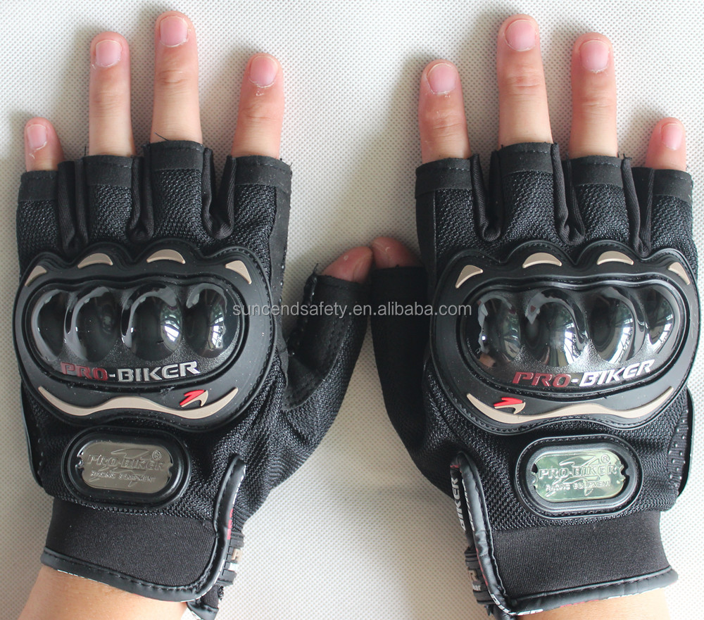 Fashion Motorcycle Glove Bike Bicycle Full Finger cycling Gloves Breathable Mesh Fabric Outdoor