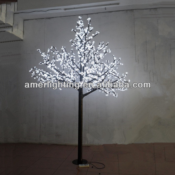 3.0m Best Seller Artificial Christmas white led cherry tree light