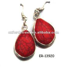 2012 new style water drop earrings