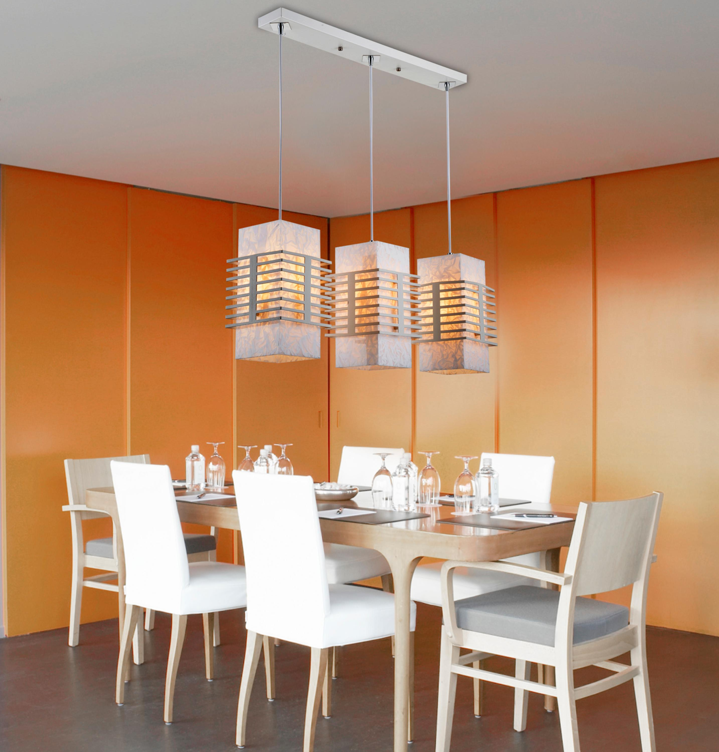 New designs indoor dining room decorative lamp acrylic modern LED hanging pendant light