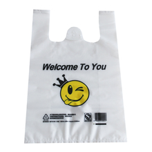 eco friendly product design clear biodegradable plastic carry bags