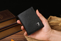 Online shopping genuine leather mini wallet