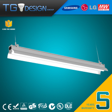 High Power 20w 40w 60w 80w 100w LED Bracket Tube Light Easy Replacement Fluorescent Light with Reflector