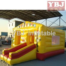mini bouncy castle, beautiful crown inflatable bouncer, inflatable jumping house