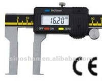 "115-335-3 1.2-13"" Sae system New Type LCD Reading Mechanical Slide Metric system Internal Groove Measuring Tools"