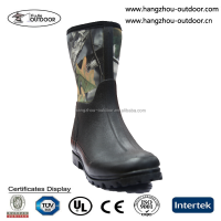 Mens Latest Camo Neoprene Waterproof Hunting boots