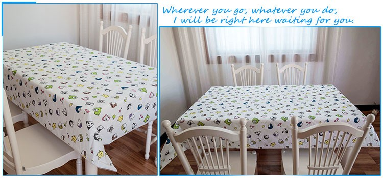 Water Proof Beautiful Color Decorative Table Cover