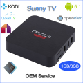 top selling products 2016 amlogic s905 tv box MXS PLUS android 5.1 lollipop tv box 1G RAM 8G ROM wifi 2.4G kodi 16.0