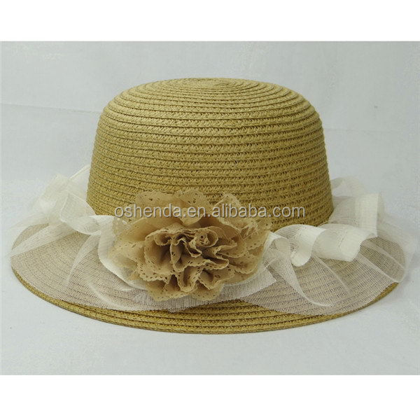 Best quality hot selling new design straw flat cap