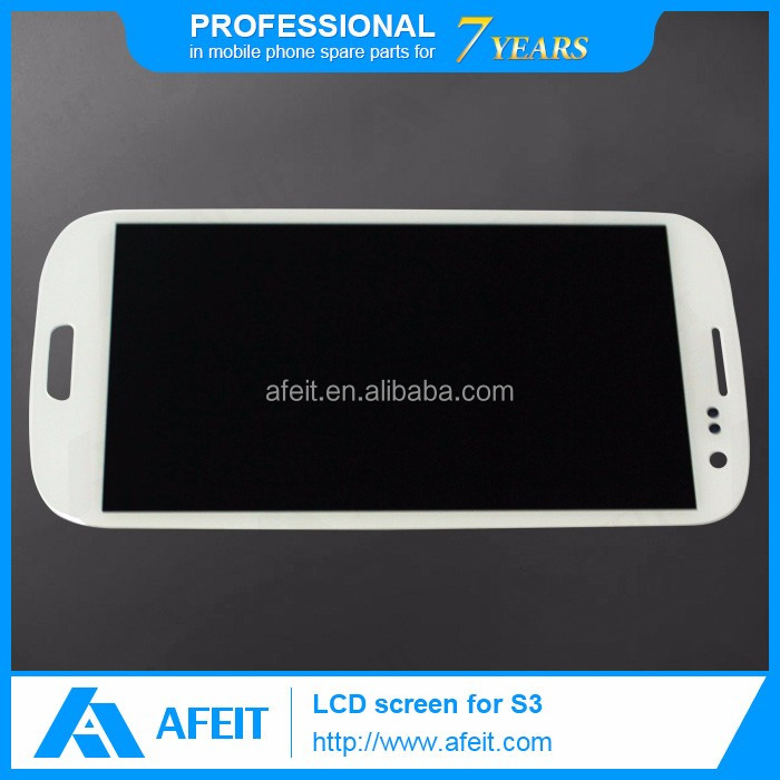 new product on china market for samsung galaxy s3 lcd screen digiziter