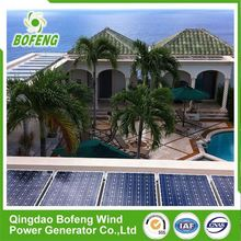 Fashion designed top grade energy solar power solar panel system