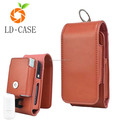 Hot Sale Pu Leather Colorful Mini Waist Pocket Bag for IQOS in Japan