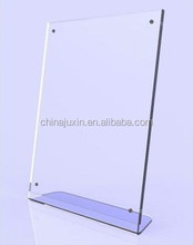 magnetic a4 acrylic display stand