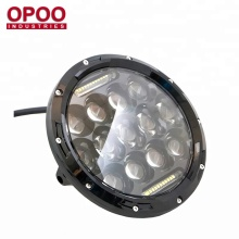 Newest 7inch 75w round led light jeep grand cherokee accessories