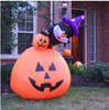3m high halloween pumpkin balloon decoration inflatable pumpkin outdoor