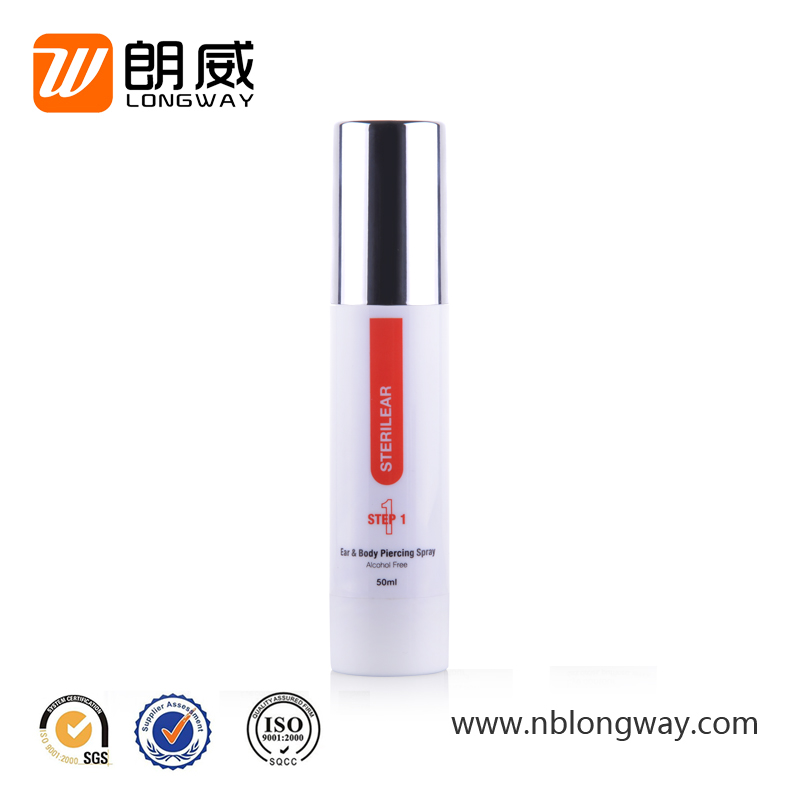 5ml 10ml 12ml 15ml cosmetic airless sterile custom plastic spray bottles