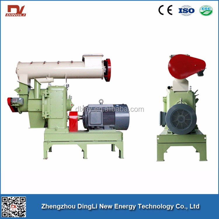 China Dingli Ring Die Wood Biomass Pellet Mill Making Machine For Sale