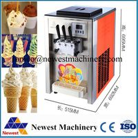 Good quailty with big capacity ice cream machinery/fry ice cream machine/ice cream freezer with cheaper price