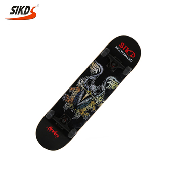 Wholesale cheap price maple skateboard professional skate board